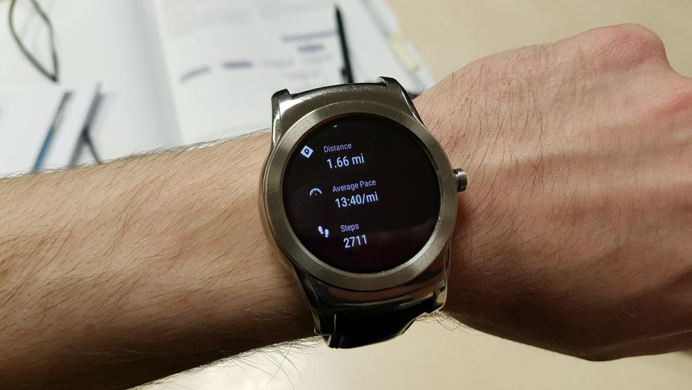 Google Fit on Android Wear