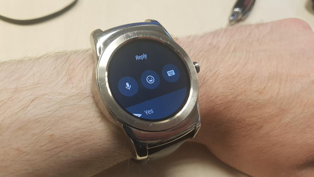 Android Wear 2.0 Message Response Options