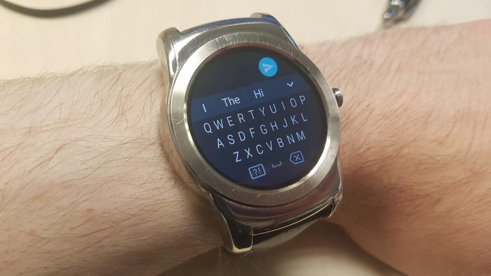 Android Wear 2.0 Keyboard