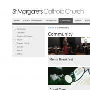 St Margaret's Website Community Section