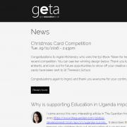 GETA - News Page