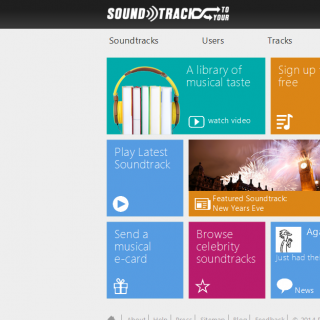 SoundtrackToYour Home Page