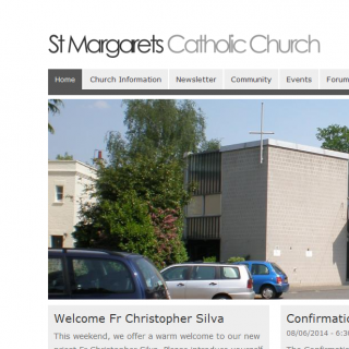 St Margaret's Website Homepage