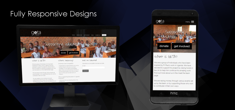 Fully Responsive Designs